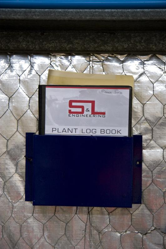 Plant Log Book