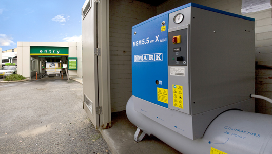 Screw Compressor Installation
